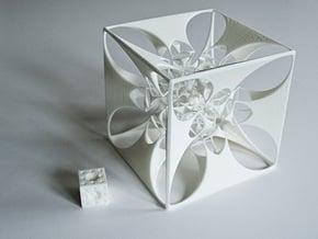 the Divine Sailor (imploding to infinitesimality) in White Natural Versatile Plastic