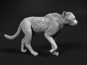 Cheetah 1:16 Walking Cub 2 in White Natural Versatile Plastic