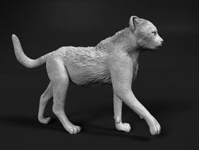 Cheetah 1:16 Walking Cub 3 in White Natural Versatile Plastic