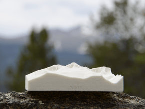 3'' Longs Peak, Colorado, USA, Sandstone in Natural Sandstone