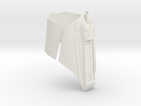 Homecoming Web Shooter in White Natural Versatile Plastic