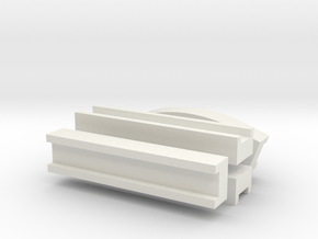Aqueduct Channel Pack in White Natural Versatile Plastic