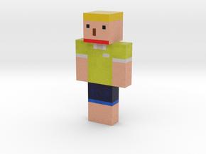 dlwnsgurdl33 | Minecraft toy in Natural Full Color Sandstone