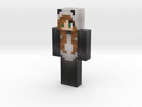LannythePanda | Minecraft toy in Natural Full Color Sandstone