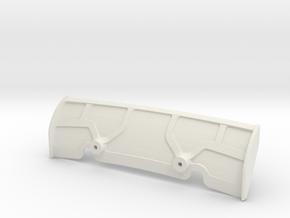 Jomurema - Aileron v1 - Colonnettes in White Natural Versatile Plastic