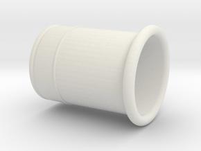 Z20LET Ansaugrohr Luftfilterkasten TCR in White Natural Versatile Plastic