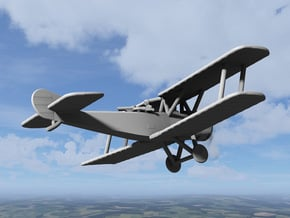 Sopwith 1-1/2 Strutter (two-seater, various scales in Gray PA12: 1:144