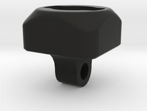 Hope QR Bayonet Head Adaptor in Black Natural Versatile Plastic