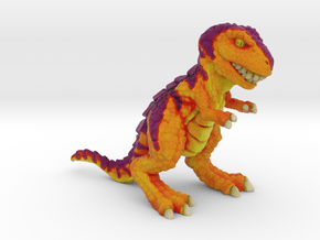 Retrosaur - Ancient Fury, Full Color in Natural Full Color Sandstone: Small
