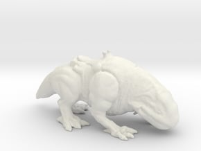 Star Wars Dewback 1/60 miniature for games and rpg in White Natural Versatile Plastic