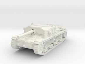 Semovente M42 75/34 1/87 in White Natural Versatile Plastic