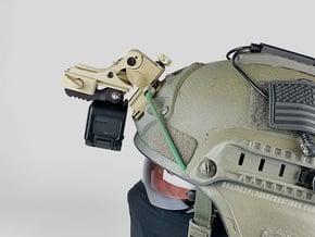 NVG Camera Mount (Wilcox Dovetail / Shoe, GoPro) in Black PA12