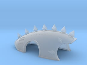 Proteus Pattern Warhound Carapace - A in Smooth Fine Detail Plastic