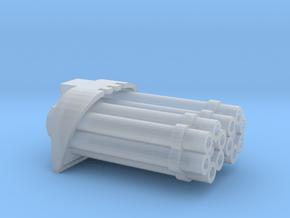 Proteus Pattern Warhound Vulcan Barrels - A in Smooth Fine Detail Plastic