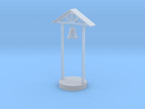 O Scale School Bell in Smooth Fine Detail Plastic
