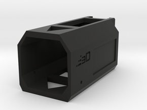 Nerf Receiver Picatinny Mount Adapter (Long) in Black Natural Versatile Plastic