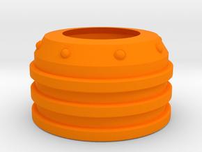 NovaTron Barrel Cover for Nerf N-Strike Modulus in Orange Processed Versatile Plastic