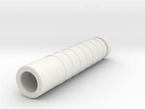 Silencer Handguard in One (Nerf N-Strike Modulus) in White Natural Versatile Plastic