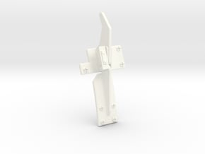 Guide Coupe Cable EC 1.6 in White Processed Versatile Plastic