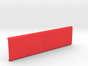 Switch Cartridge Case (Cover) in Red Processed Versatile Plastic