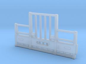 DCP Kenworth Vertical bar bumper in Smooth Fine Detail Plastic