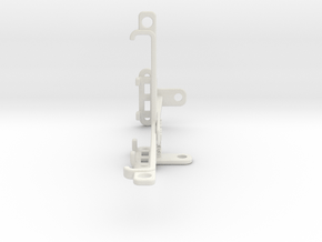 Sony Xperia L3 tripod & stabilizer mount in White Natural Versatile Plastic