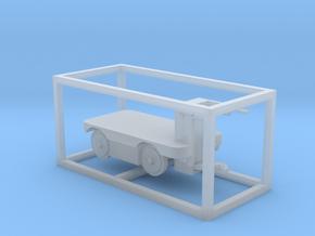 E-Karren Flachwagen - 1:120 TT in Smooth Fine Detail Plastic