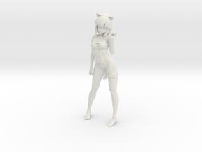 Printle V Femme 247 - 1/18 - wob in White Natural Versatile Plastic