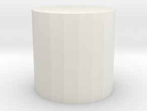 Leon cyl product 1 in White Natural Versatile Plastic