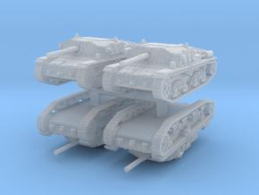 Semovente M42 75/34 (4 pieces) 1/285 in Smooth Fine Detail Plastic