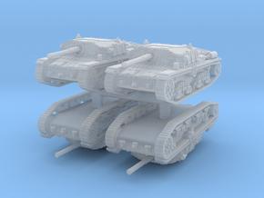 Semovente M42 75/34 (4 pieces) 1/200 in Smooth Fine Detail Plastic