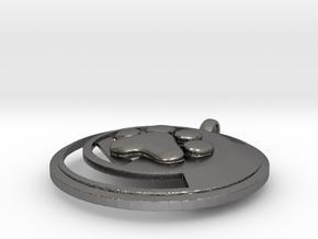 Cincinnati Puppy in Polished Nickel Steel