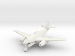 (1:144) Messerschmitt Me 262 C3a Heimatschutzer 3 in White Natural Versatile Plastic