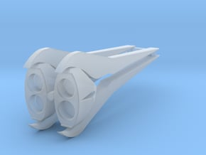 Fusion Blades in Smooth Fine Detail Plastic