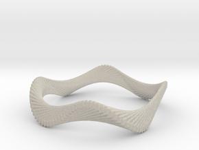 Ocean Wave Bracelet in Natural Sandstone
