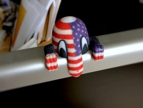 Kilroy Desk Toy: USA in Full Color Sandstone