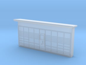 N Scale DHL Packstation in Smooth Fine Detail Plastic