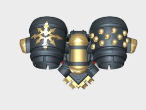 Dark Legion - Chordero Jetpack (PM) in Smooth Fine Detail Plastic: Small