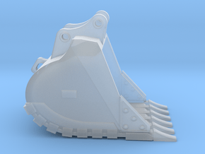"""1:50 48"""" HD Bucket for 20 Ton excavators V2 in Smooth Fine Detail Plastic"""