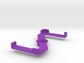 Platform (153 x 75 mm) in Purple Processed Versatile Plastic