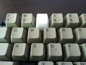 Apple IIe Keyboard Cap - Top Row in White Natural Versatile Plastic