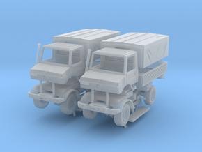 Unimog U1300 Militär 2x 1/200 in Smooth Fine Detail Plastic
