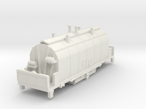 1967 NSC 35' Ore Hopper ONT in N Scale in White Natural Versatile Plastic