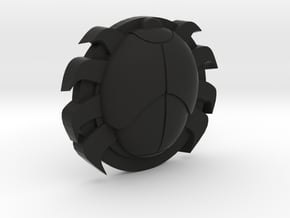 Spider Tracer in Black Natural Versatile Plastic