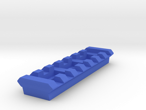 Picatinny Rail (7 Slots) Nerf RevReaper Heracles in Blue Processed Versatile Plastic
