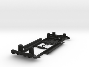 S24-ST2 Chassis for Policar Subaru BRZ / Toyota GT in Black Natural Versatile Plastic