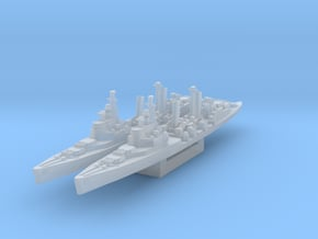 HMS Belfast (Axis & Allies) in Smooth Fine Detail Plastic