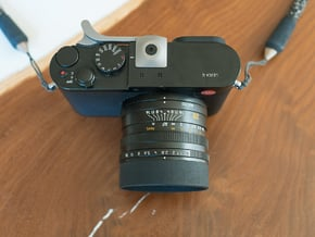 Leica Q Ring Hood in Black PA12