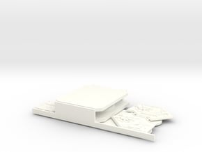 Custom Bloody Rose Sororitas Rhino Doors and Armor in White Processed Versatile Plastic
