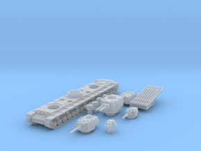 kv 6 scale 1/285 in Smooth Fine Detail Plastic